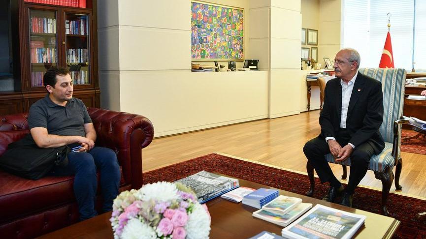 Rabia Naz'ın babası, Kılıçdaroğlu ile dava sürecini görüştü