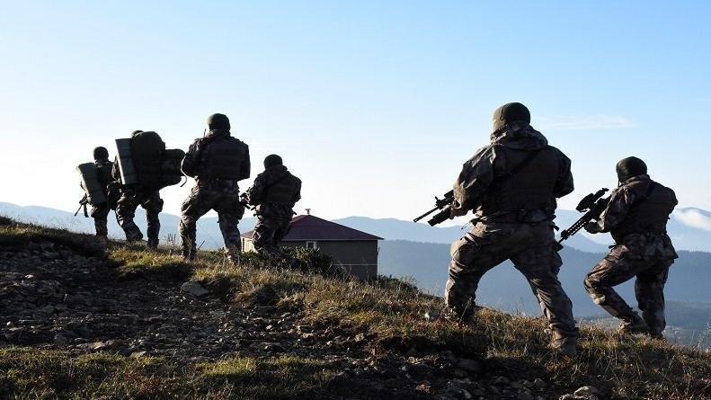 Hakkari'de 8 kişilik terörist grup etkisiz hale getirildi