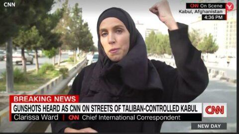 CNN muhabiri Afganistan'da ucuz kurtulmuş: Tabancayla vuracaklardı