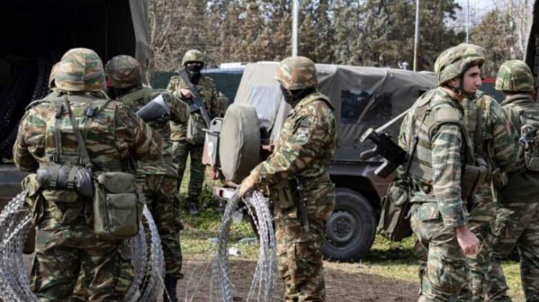 Yunanistan ordusu Batı Trakya sınırında Afgan göçmenler için teyakkuza geçti