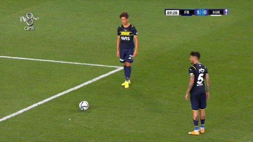Fenerbahçe'de geceye damga vuran pozisyon! Arda istedi Sosa bırakmadı...
