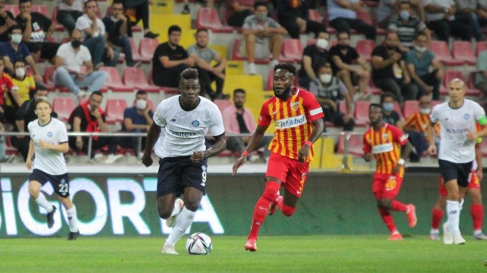 Adana Demirspor 26 yıl sonra ilk puanını Kayseri'de aldı: 1-1