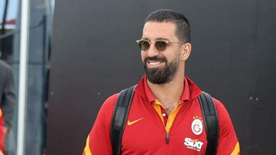 Galatasaray'da Arda Turan'da ödem ve kanama
