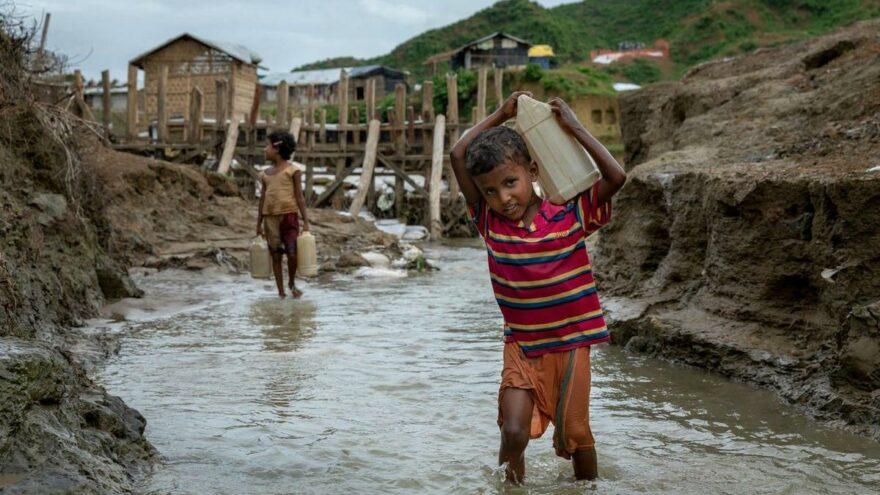 UNICEF: 1 Milyar çocuk 'aşırı risk' altında