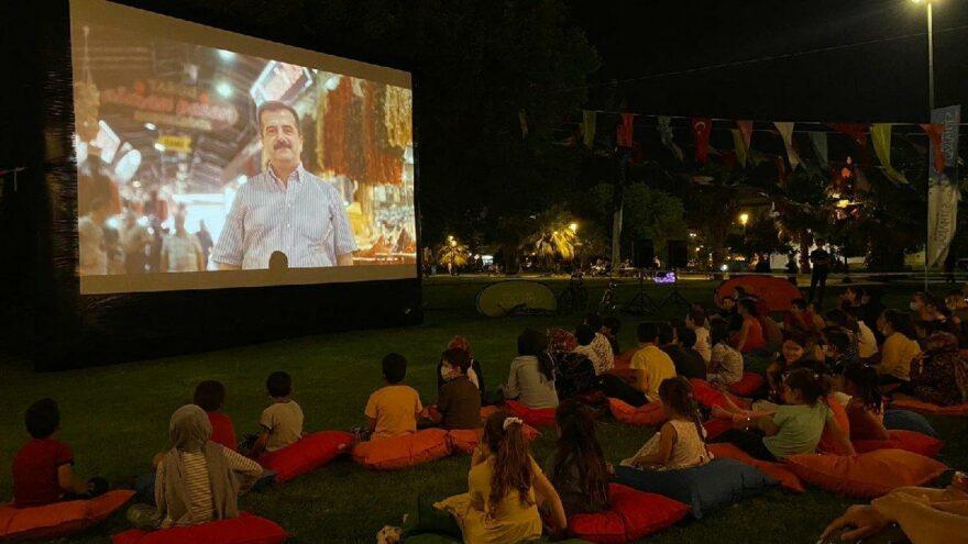 Yazlık sinema heyacı devam ediyor