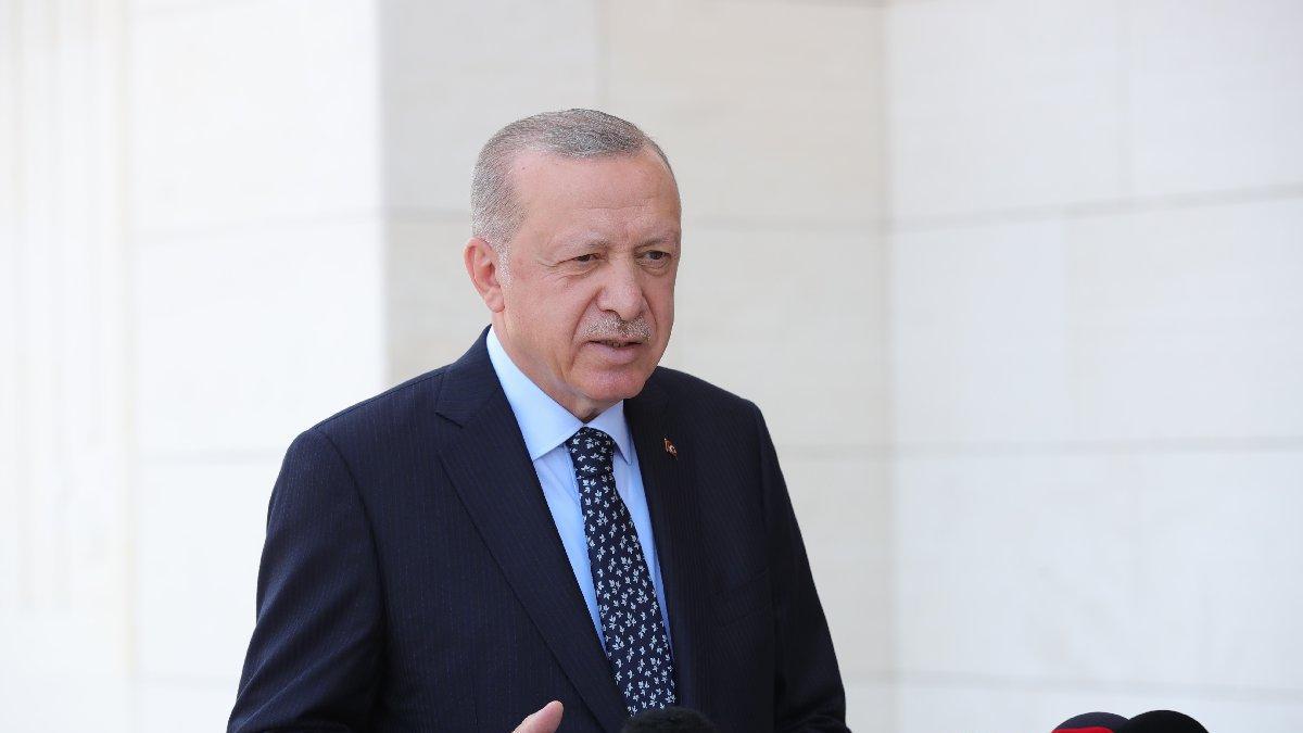 Erdoğan: Taliban'la zaman zaman görüşmelerimiz oldu