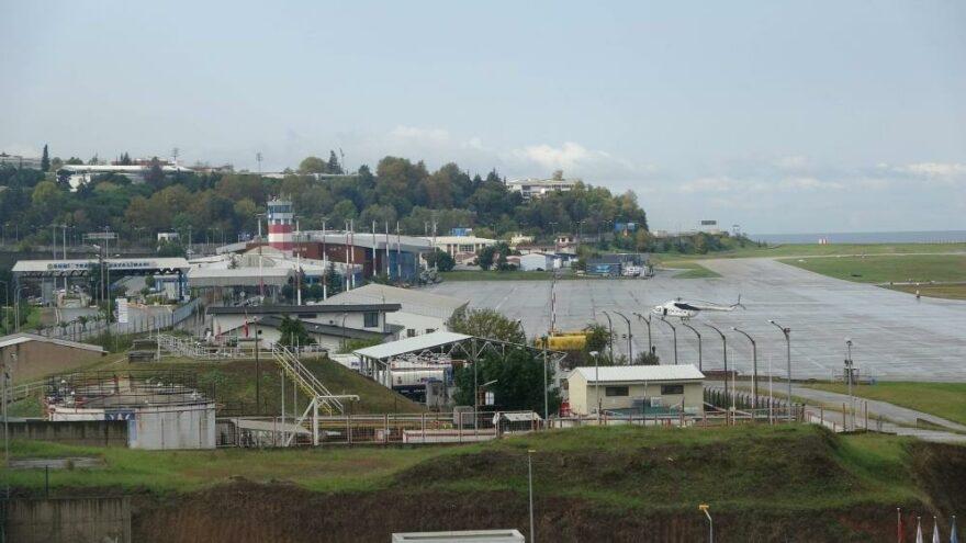 Pist çatladı, Trabzon Havalimanı 3 saat uçuş trafiğine kapatıldı
