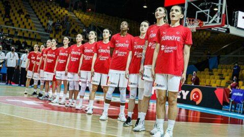 FIBA 2023 Kadınlar Avrupa Şampiyonası Elemeleri'nde gruplar belli oldu