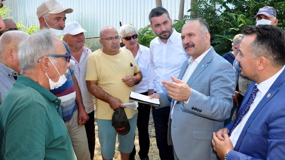 İYİ Partili Usta'dan 'üzümde rekolteye müdahale ediliyor' iddiası