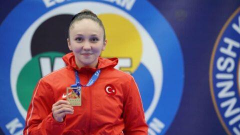 Büyükşehir sporcusu Damla, Avrupa şampiyonu