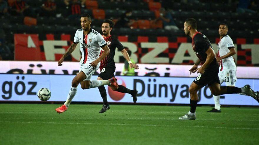 Gaziantep FK-Beşiktaş maçında galip çıkmadı