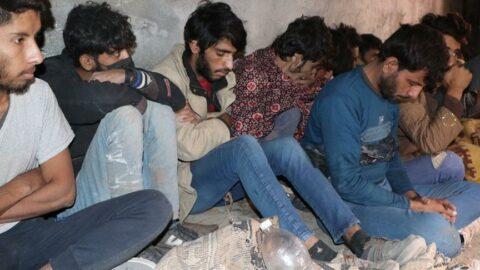 Van'da 25 kaçak göçmen ile 1 organizatör yakalandı