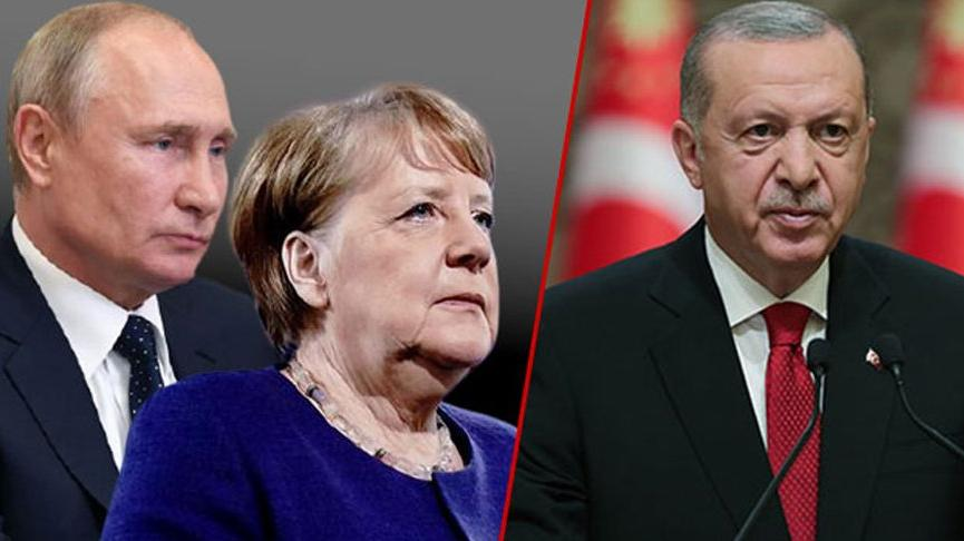 Cumhurbaşkanı Erdoğan, Putin ve Merkel ile görüştü! Taliban mesajı