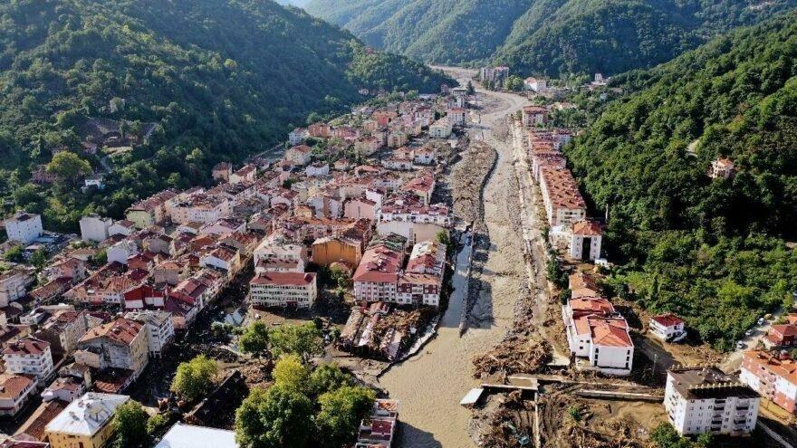 Batı Karadeniz'deki sel felaketinde 191 bina yıkıldı