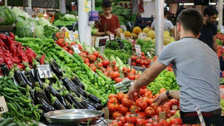 Gıda fiyatlarındaki artış enflasyonu solladı