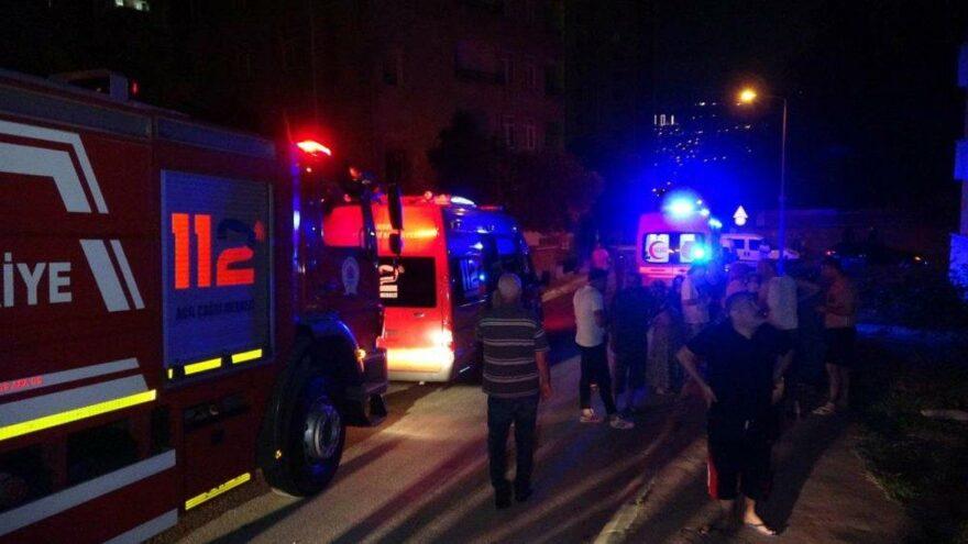 Uzaklaştırma kararı olan kız arkadaşının evini yaktı iddiası