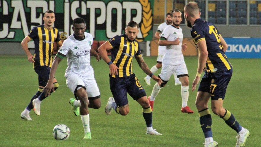 Ankaragücü Kocaelispor maçında gol sesi çıkmadı