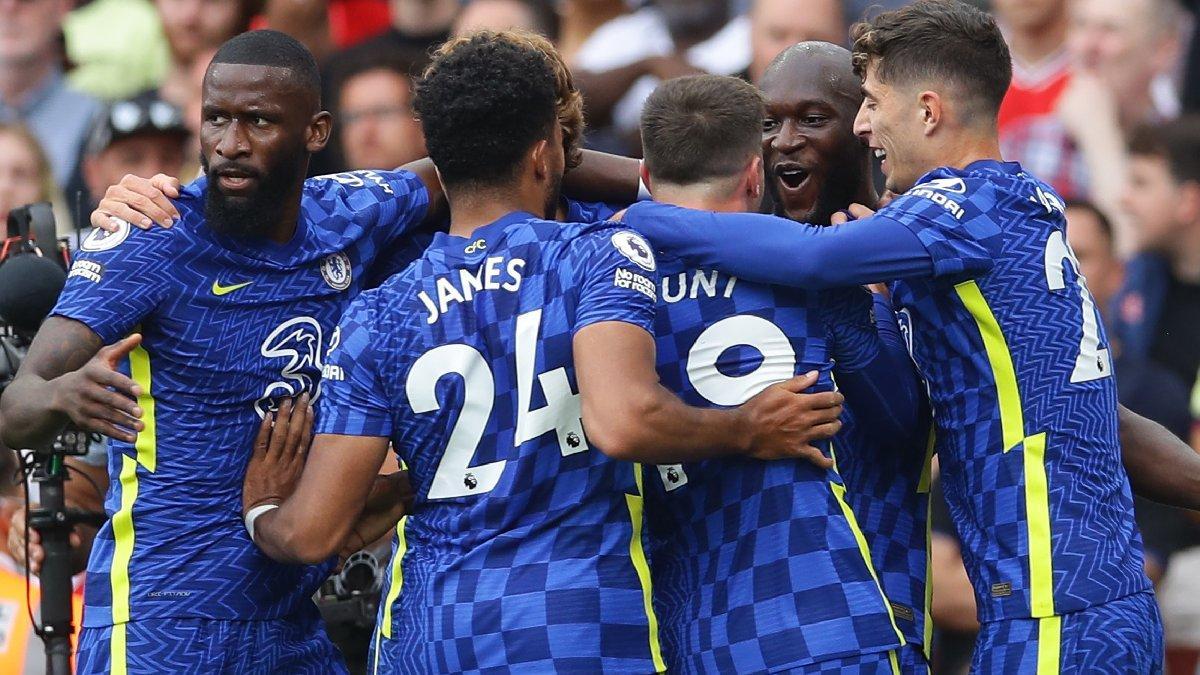 Lukaku siftah yaptı; Chelsea, Arsenal'ı rahat geçti