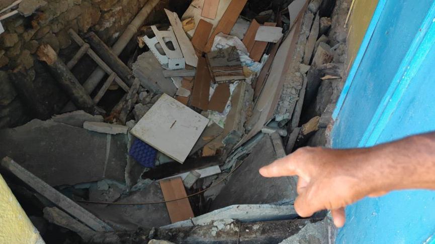 Konya'da evin tabanının çökme nedeni belli oldu