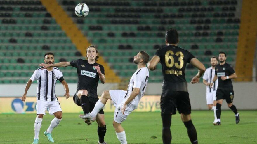 Manisa FK Denizlispor karşısında penaltıyla güldü