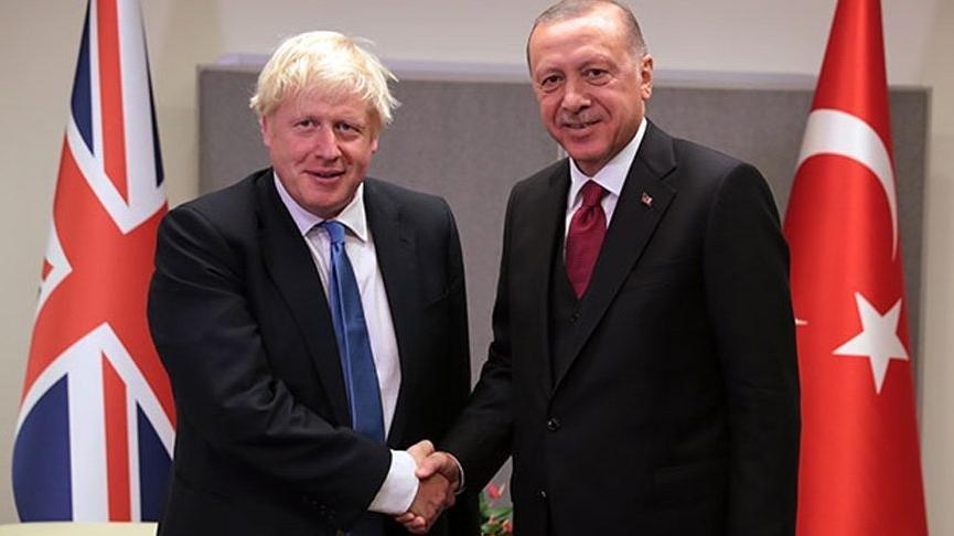 Erdoğan ile Johnson arasında Afganistan görüşmesi