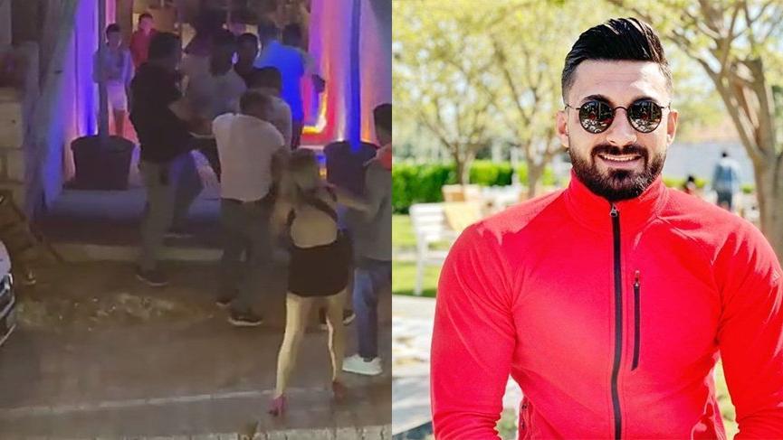Gece kulübü önündeki cinayetin görüntüleri ortaya çıktı
