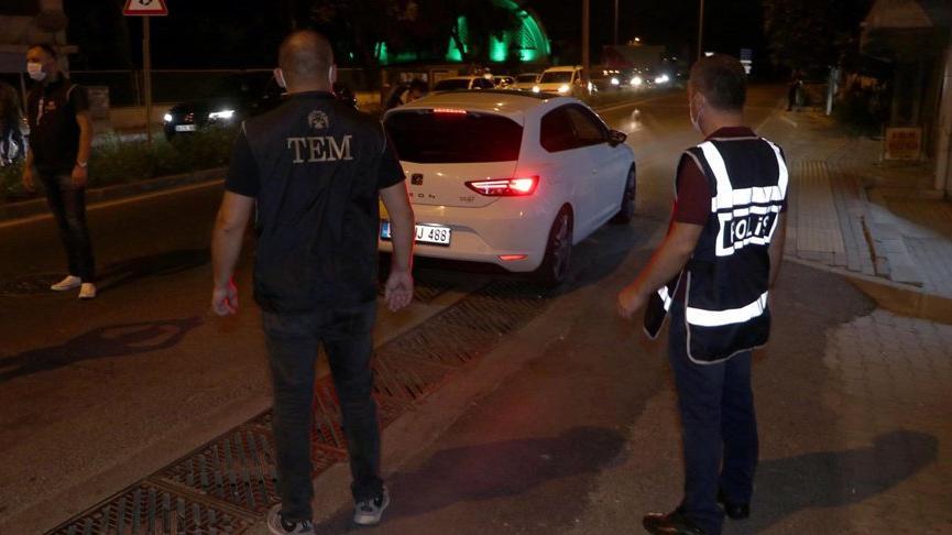 Kentte bin polisin katılımıyla huzur uygulaması: 43 gözaltı
