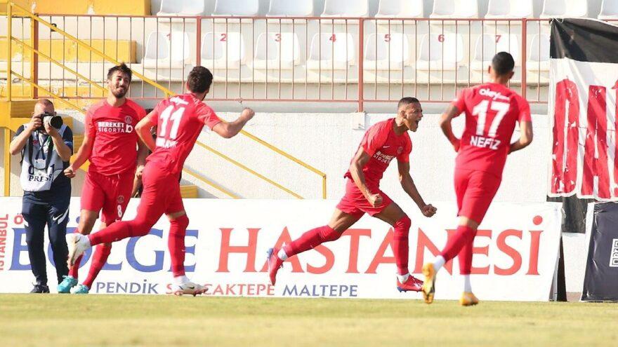 Ümraniyespor İstanbulspor'u yendi, ikide iki yaptı