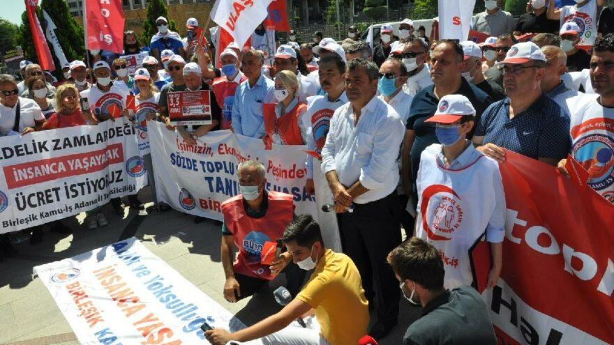 Birleşik Kamu-İş Konfederasyonu'ndan Memur-Sen'e toplu sözleşme tepkisi