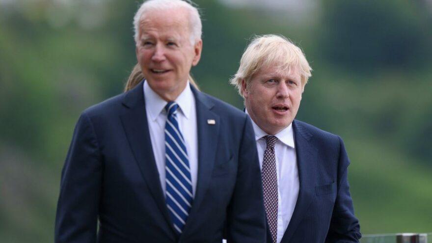 Biden ve Johnson Afganistan'ı görüştü