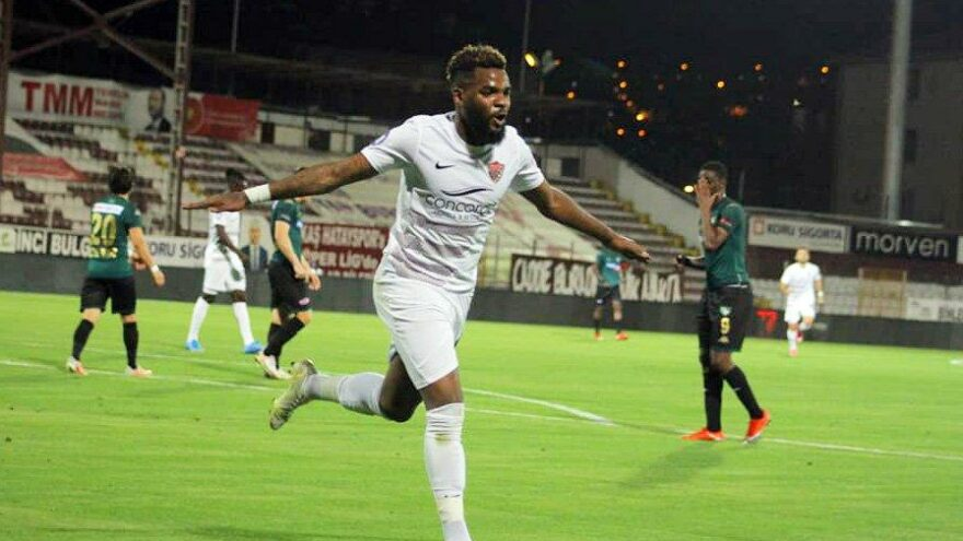 Hatayspor'dan Aaron Boupendza'ya transfer izni