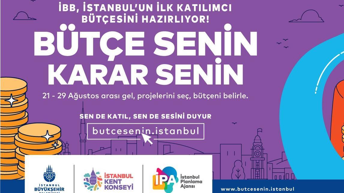 İBB bütçesini İstanbullular oylamaya başladı