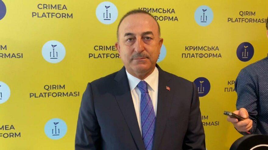 Çavuşoğlu: Kırım'ın ilhakını tanımadık