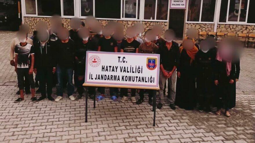 Sınırdan kaçak geçen 81 göçmen yakalandı