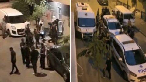 Sultangazi'de hareketli anlar: Bekçilerden kaçan iki kişi yakalandı
