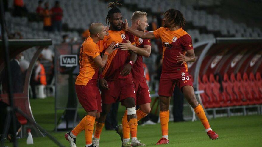 Galatasaray-Hatayspor maçında üç puan 88. dakikada geldi