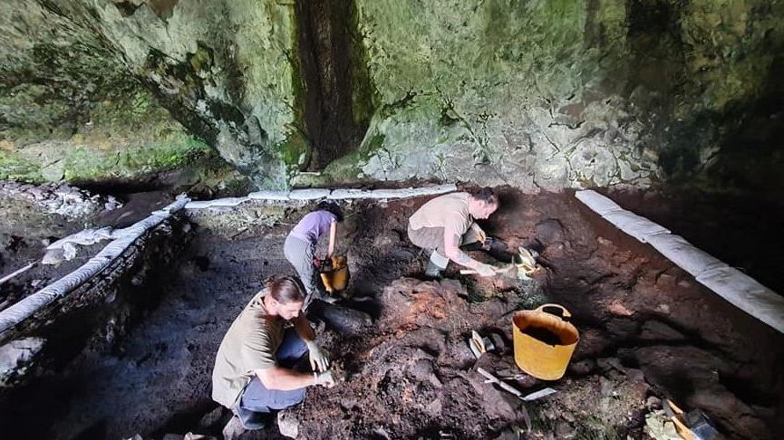 Zonguldak'ta, Batı Karadeniz'in en eski yerleşim yeri tespit edildi