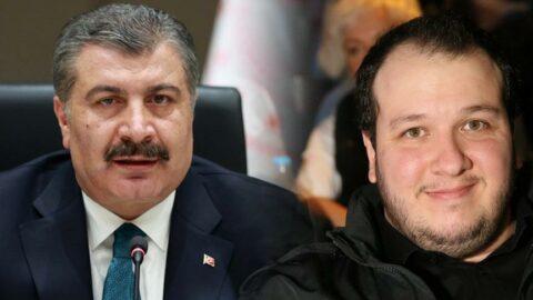 Şahan Gökbakar'ın aşı açıklamalarına Sağlık Bakanı Koca'dan yanıt