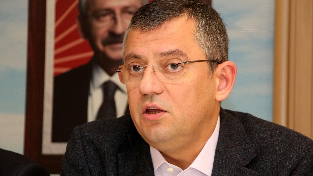 CHP'li Özel: Polise hakaret etmek, küfretmek kimsenin haddine değildir