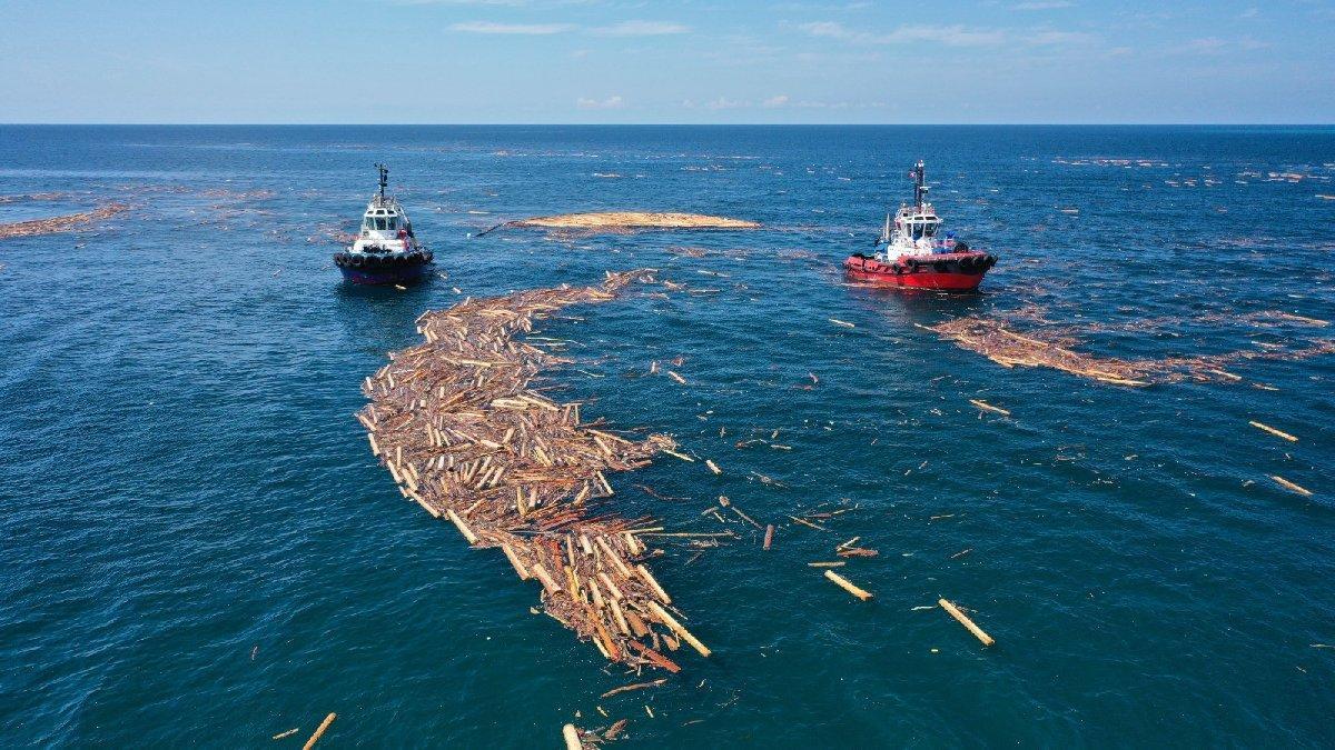 Balıkçıların tomruk ve moloz tedirginliği