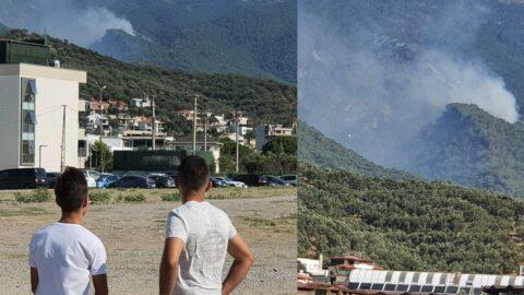Kazdağları'ndaki orman yangını büyüyor