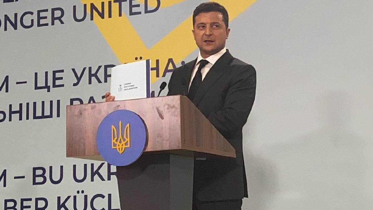 Zelenskiy: Kırım'ın kurtuluşu için geri sayım başladı