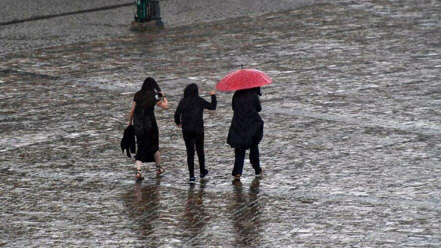 Bölgesel yağışlar için uyarı geldi