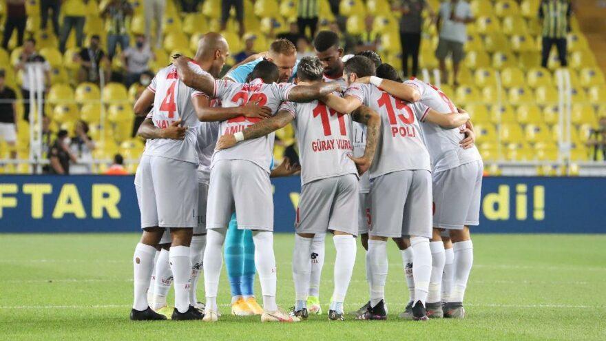 Antalyaspor 10 maçtır galibiyete hasret