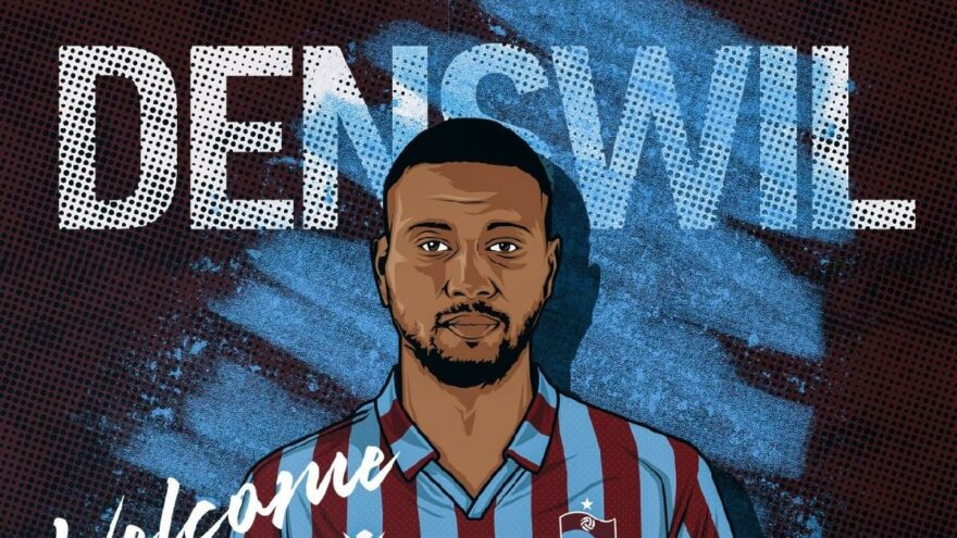 Trabzonspor, Denswil'i KAP'a bildirdi