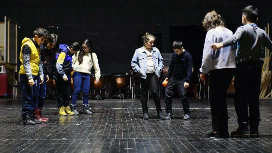 Ankara Büyükşehir Belediyesi'nden çocuklara ücretsiz drama eğitimi