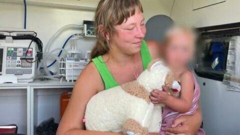 Rusya'da ormanda kaybolan bebek 4 gün sonra bulundu