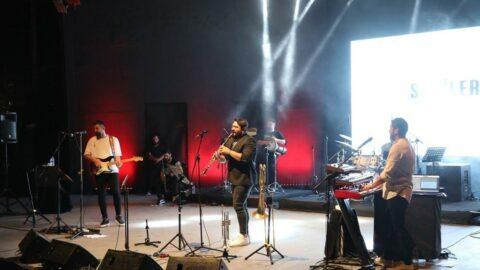 Bodrum Kale'deki ücretsiz halk konserine yoğun ilgi