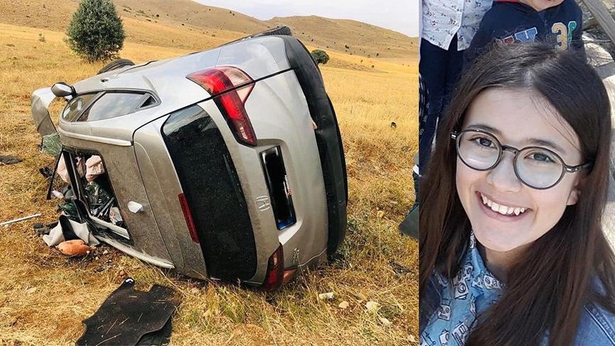 11. sınıf öğrencisi Melike trafik kazasında can verdi