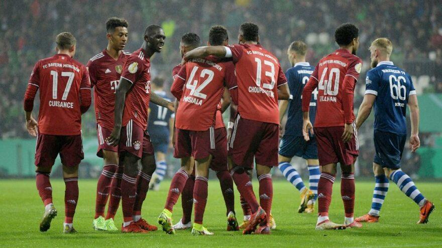 Bremer SV-Bayern Münih maçında tarihi skor